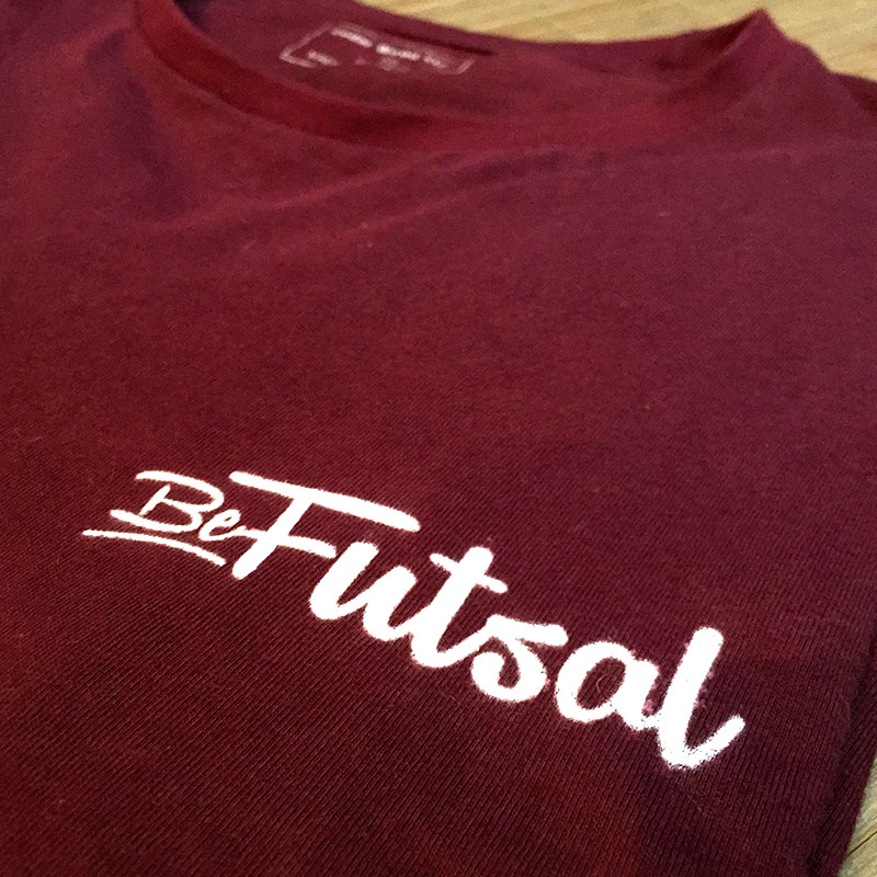 Camiseta Burdeos Bordada | Be Futsal